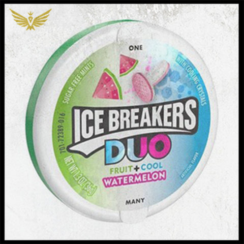 Ice Breakers Duo Fruit + Cool Watermelon