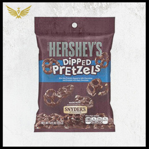 Hershey's Dipped Pretzels - Milk & Dark Chocolate 120g
