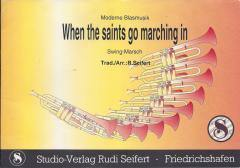 Musiknoten zu When the saints go marching in (B-Ware) arrangiert/komponiert von Pit Gerrens (Einzelausgabe) - Musikverlag Seifert
