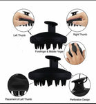 Silicone Hair Scalp Massager Dandruff Removal Hair Brush