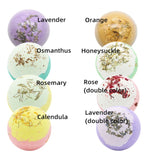 Organic and Natural Moisturising Ball Shaped Bath Bubble Bath Gift Set (Women)