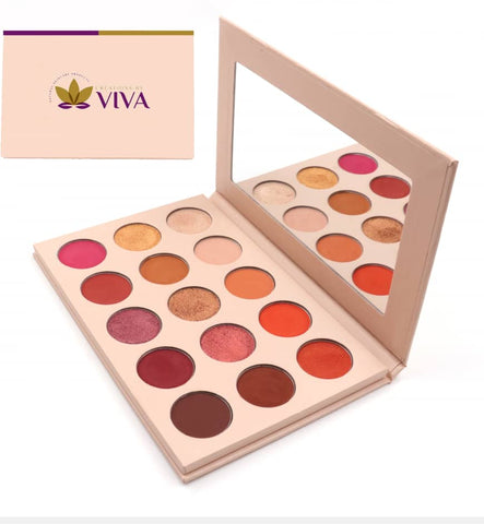 15 Vegan Colours Highly Pigmented Nude Eyeshadow