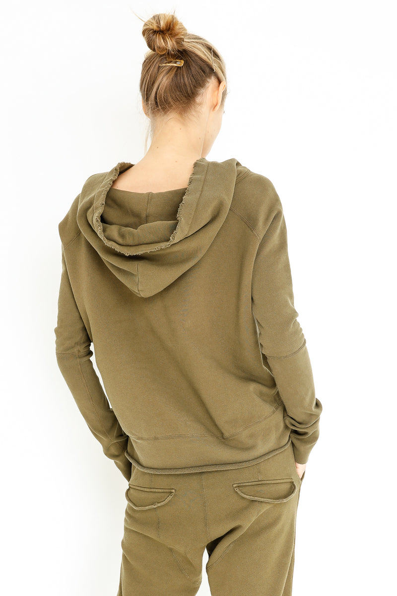FLETCHER LACE UP HOODIE
