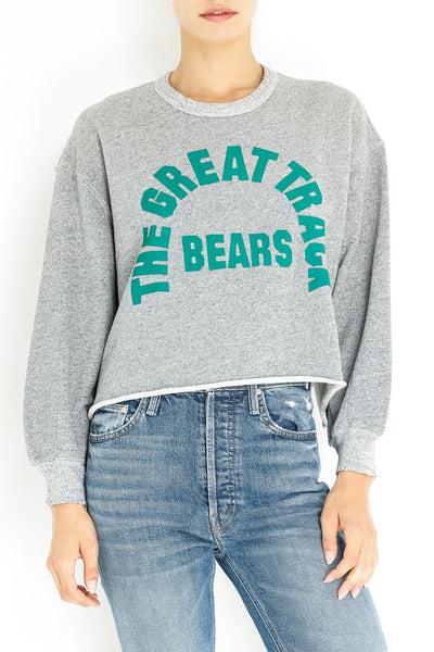 CUT OFF SWEATSHIRT W/BEARS