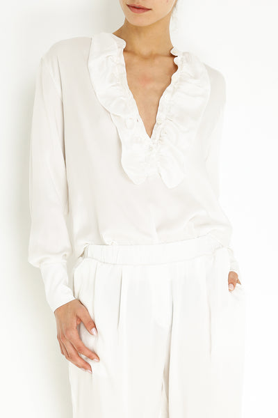 SILK GINGER BLOUSE