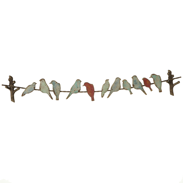 BIRDS ON A WIRE WALL DECOR by Ganz