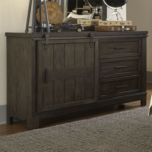 THORNWOOD HILLS BARN DOOR DRESSER by Liberty Furniture