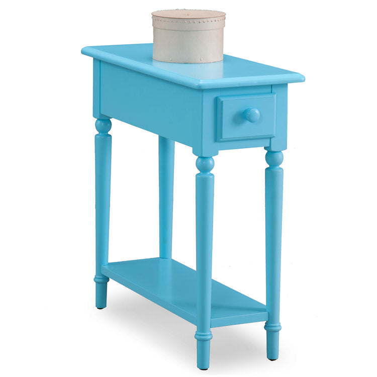 *COASTAL NARROW CHAIRSIDE TABLE by Leick Furniture