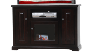 POPLAR DELUXE ENTERTAINMENT CONSOLE by American Heartland