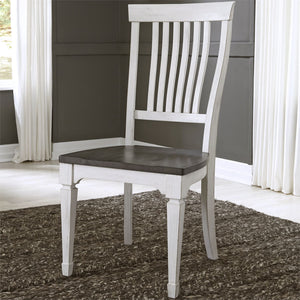 ALLYSON PARK SLAT BACK SIDE CHAIR by Liberty Furniture