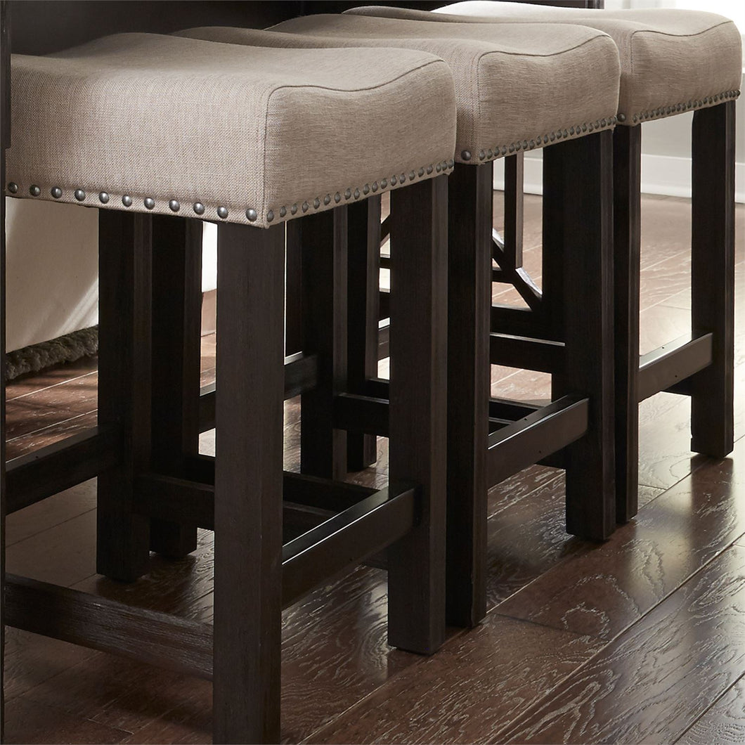 HEATHERBROOK UPH CONSOLE BARSTOOL by Liberty Furniture