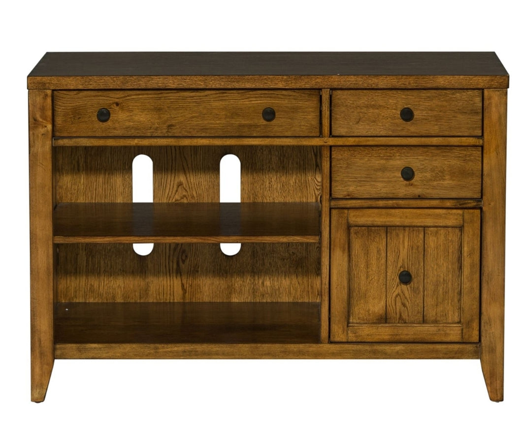 HEARTHSTONE RIDGE COMPUTER CREDENZA by Liberty Furniture