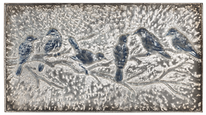 EMBOSSED BIRDS ON A BRANCH WALL DECOR by Ganz