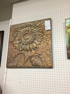 SUNFLOWER METAL WALL DECOR by Ganz