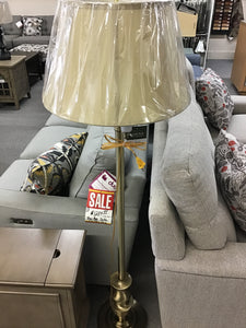 BRUSHED NICKEL FLOOR LAMP by Home Accents