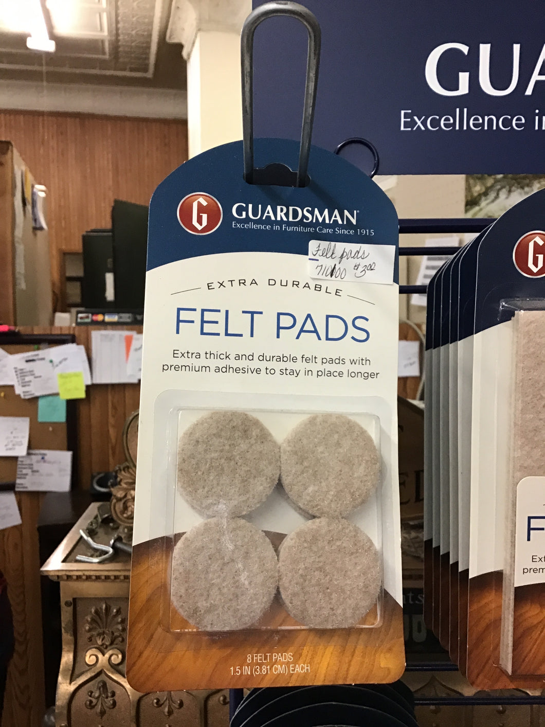 Guardsman Felt Pads Pack of 8 (1.5 IN) 710100