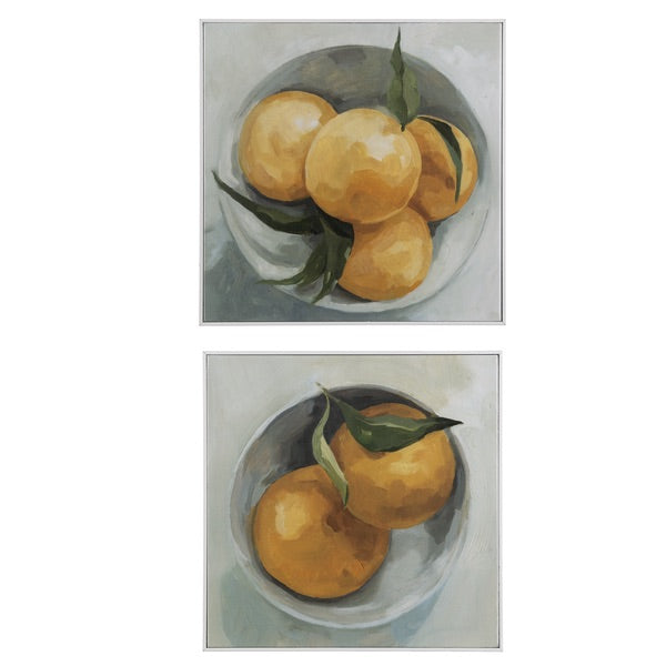 LEMON IN BOWL WALL DECOR by Ganz