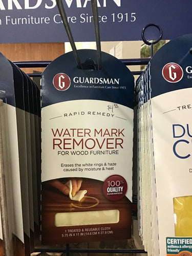 REUSABLE WATER MARK REMOVER by Guardsman