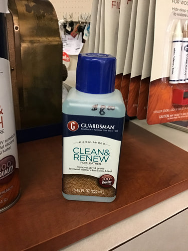 LEATHER CLEAN AND RENEW by Guardsman