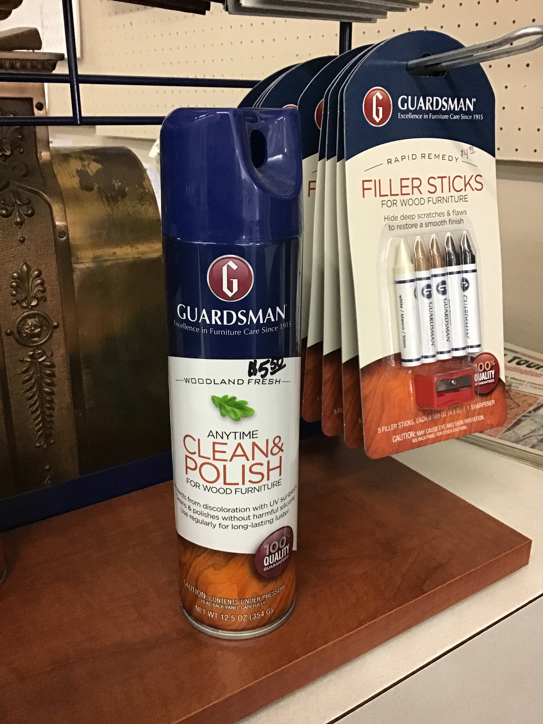 ANYTIME CLEAN AND POLISH POLISHER FOR WOOD FURNITURE by Guardsman