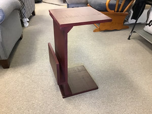 CHAIR SIDE TABLE w/MAGAZINE RACK by Sunny Designs