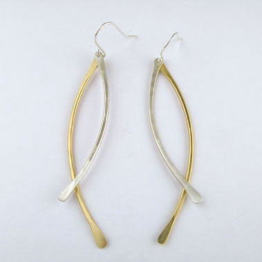Criss Cross Earrings (E905) - DanaReedDesigns