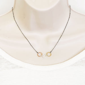 Diamond Cut Unity Necklace (N1470) - DanaReedDesigns