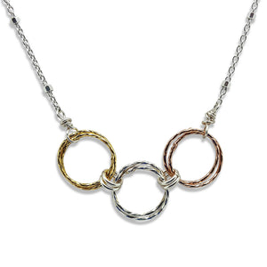 Triple Harmony Necklace (N1470) - DanaReedDesigns