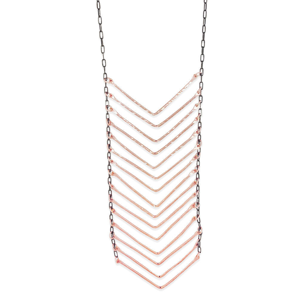 XL Chevron Necklace (N1535)