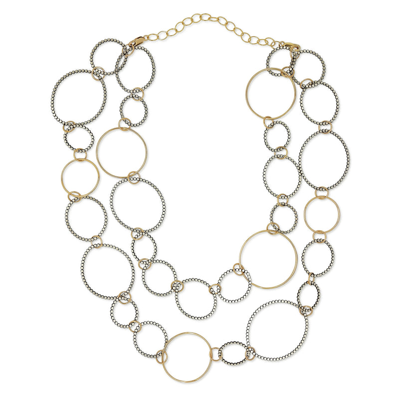 2-Way Organic Circle Necklace (N1656) - DanaReedDesigns