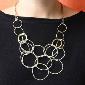 2-Way Hoop Necklace  (N1266) - DanaReedDesigns