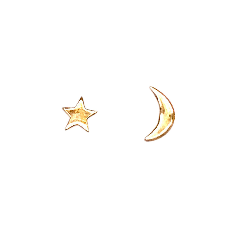 Star and Moon (E1691KY) - DanaReedDesigns
