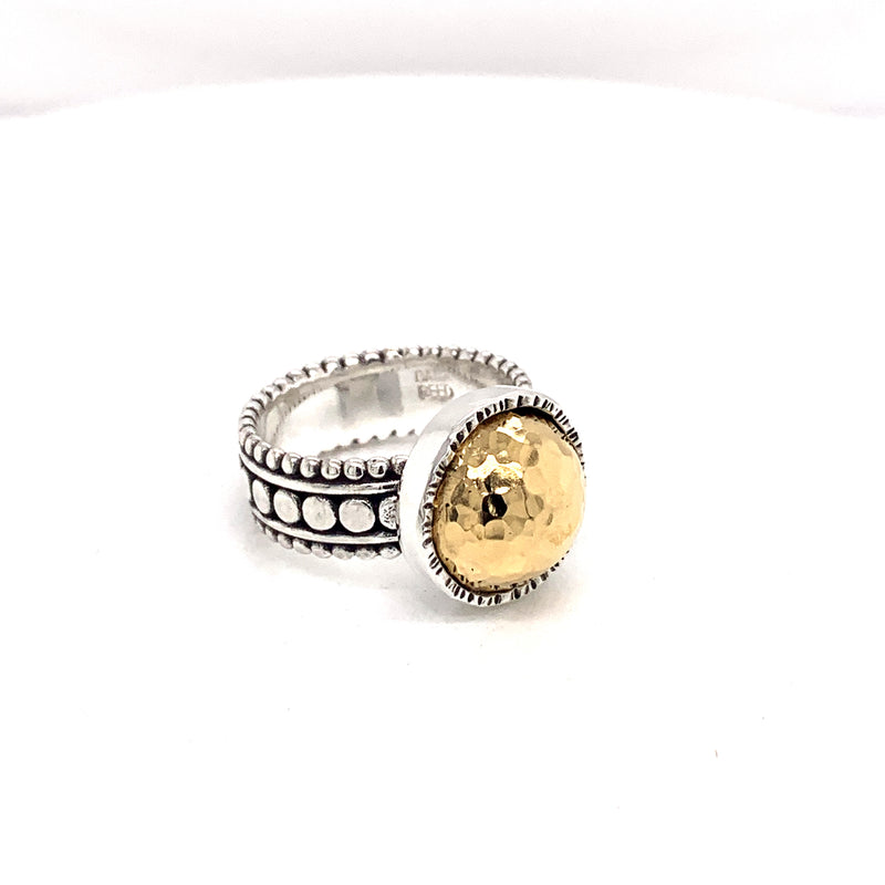 22k bi metal ring - DanaReedDesigns