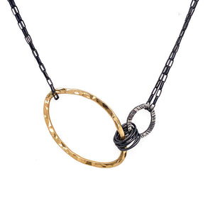 Small Oval Harmony Necklace (N1764)