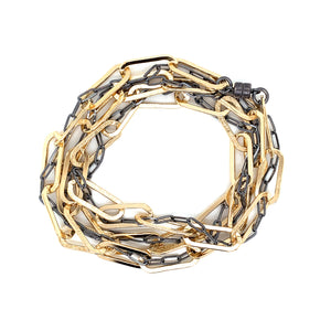 Entwined Linx Necklace/Bracelet (N1901) - DanaReedDesigns