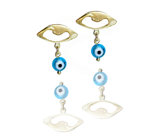ALL EYES ON ME-THE CUTEST GOLD EARRINGS