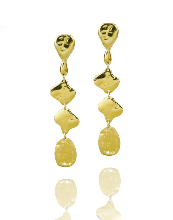 ETHIOPIA Gold earrings