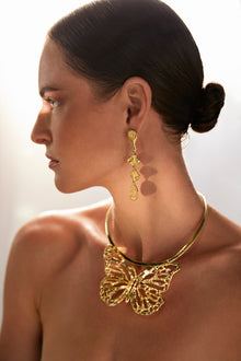 PAPILIONEM Gold necklace