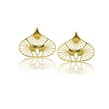 THE EMPIRE BELLS Gold earrings