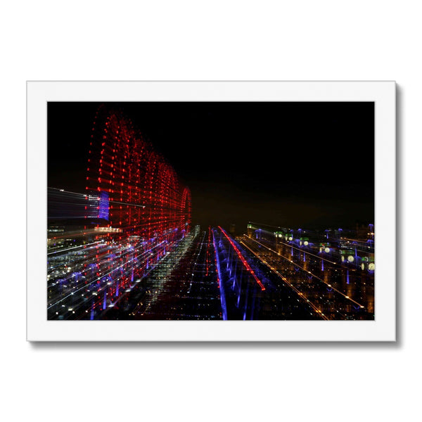LONDON NIGHTS: BIG BEN  Framed Print - Amy Adams Photography