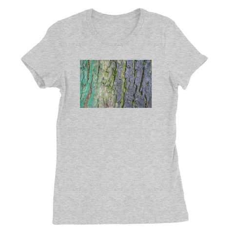 DAUB:TOOTING COMMON Women's Fitted T-Shirt - Amy Adams Photography