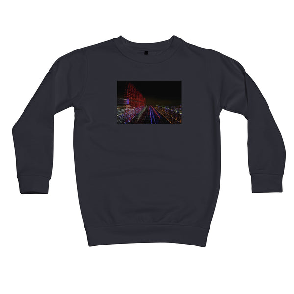 LONDON NIGHTS: BIG BEN  Kids Sweatshirt - Amy Adams Photography