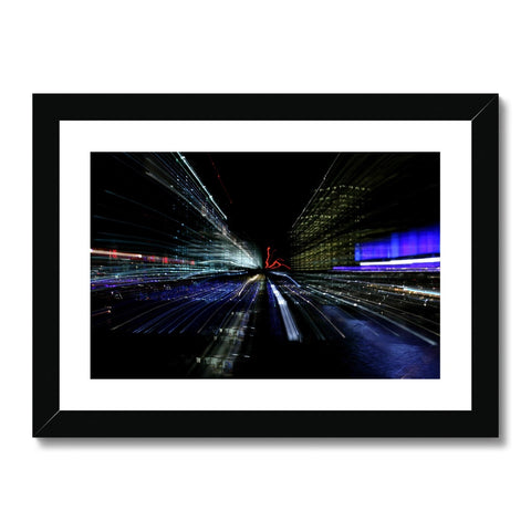 LONDON NIGHTS: CHAOS Framed & Mounted Print - Amy Adams Photography