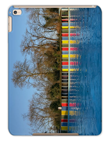 TOOTING BEC LIDO WITH TREES Tablet Cases - Amy Adams Photography