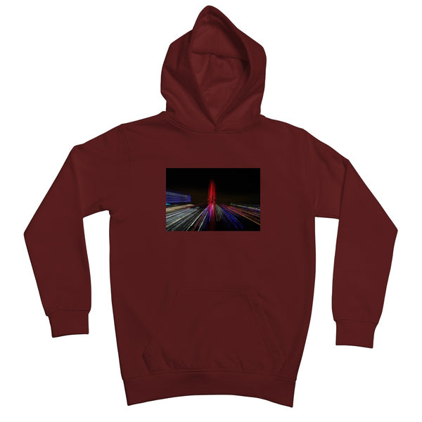 LONDON NIGHTS: THE LONDON EYE Kids Hoodie - Amy Adams Photography