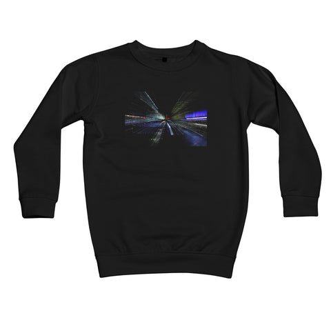 LONDON NIGHTS: CHAOS Kids Sweatshirt - Amy Adams Photography