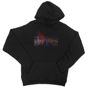 LONDON NIGHTS: BIG BEN  College Hoodie - Amy Adams Photography