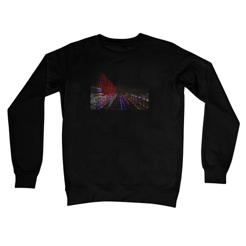 LONDON NIGHTS: BIG BEN  Crew Neck Sweatshirt - Amy Adams Photography