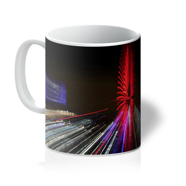 LONDON NIGHTS: THE LONDON EYE Mug - Amy Adams Photography