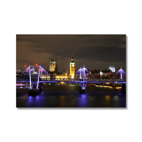LONDON NIGHTS: THE HOUSES OF PARLIAMENT Hahnemühle Photo Rag Print - Amy Adams Photography